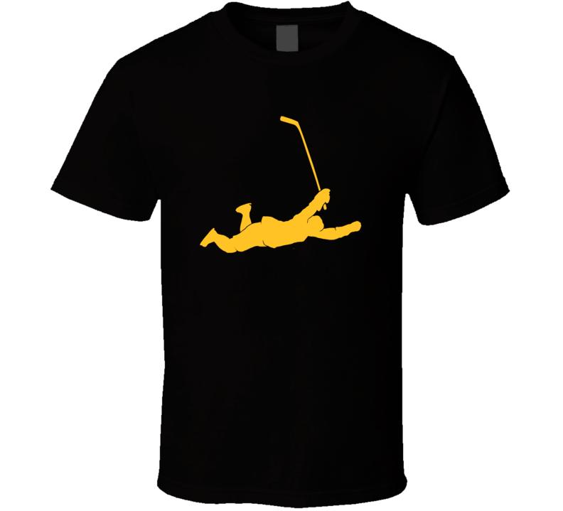 792x719 Orr Flying Goal Dive Famous 1970 Score Silhouette T Shirt