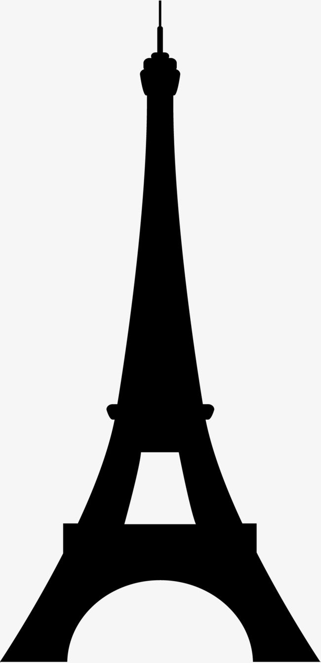 650x1344 Black Silhouette, Eiffel Tower, French Tower, Famous Scenic Spot
