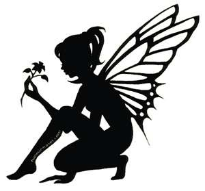 300x279 53 Best Fairy Jars Images On Fairy Silhouette