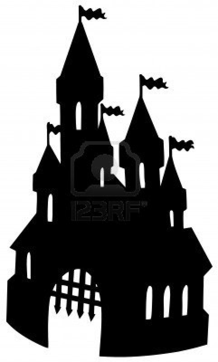 723x1200 Old Castle Silhouette