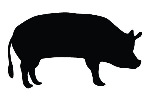 farm animal silhouette vector at getdrawings com free for personal rh getdrawings com guinea pig silhouette vector