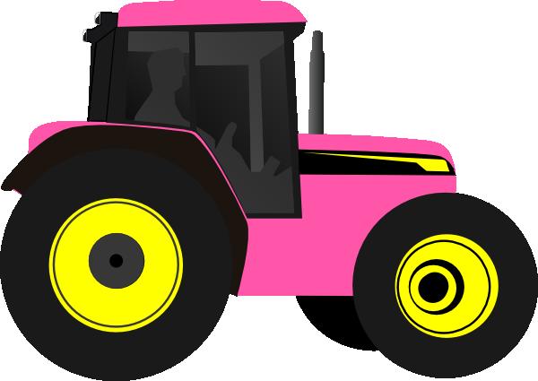 600x425 Farm Tractor Clip Art