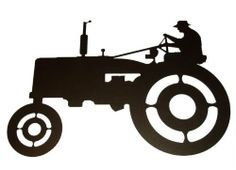 236x170 Tractor Metal Wall Art Z. Metal Designs Metal Wall