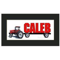 236x236 Farmall Tractor Metal Wall Art Metal Art