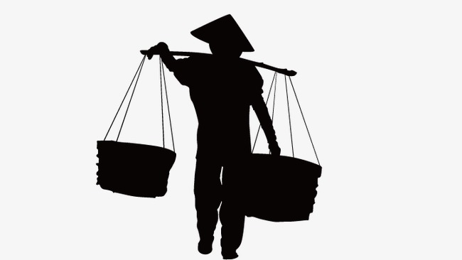 650x366 Farmer, Silhouette Farmers, Vector Men Silhouette Png And Vector
