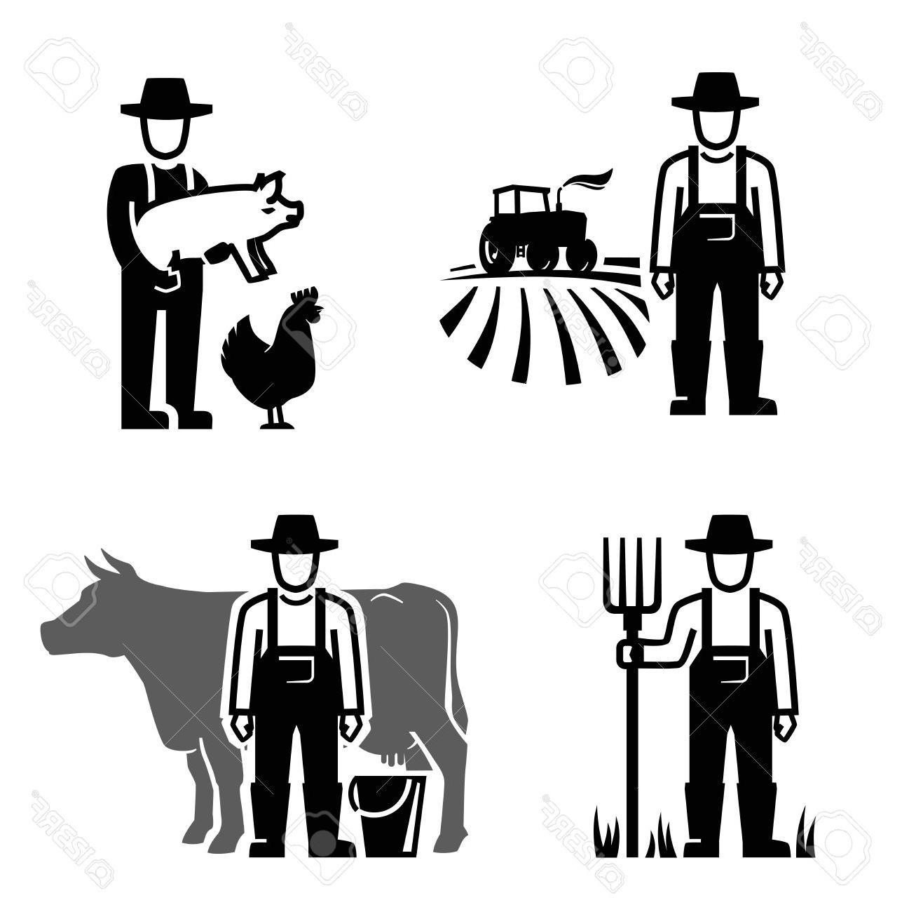 1297x1300 Top Farmer Icon Drawing