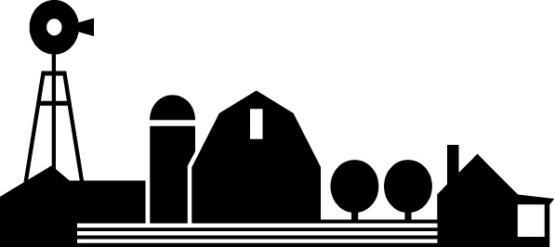 555x247 Barn Silhouette Clip Art