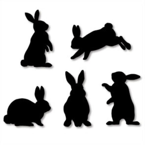 616x616 Wall Decorations Rabbit,home And Living,paper Craft,rabbit