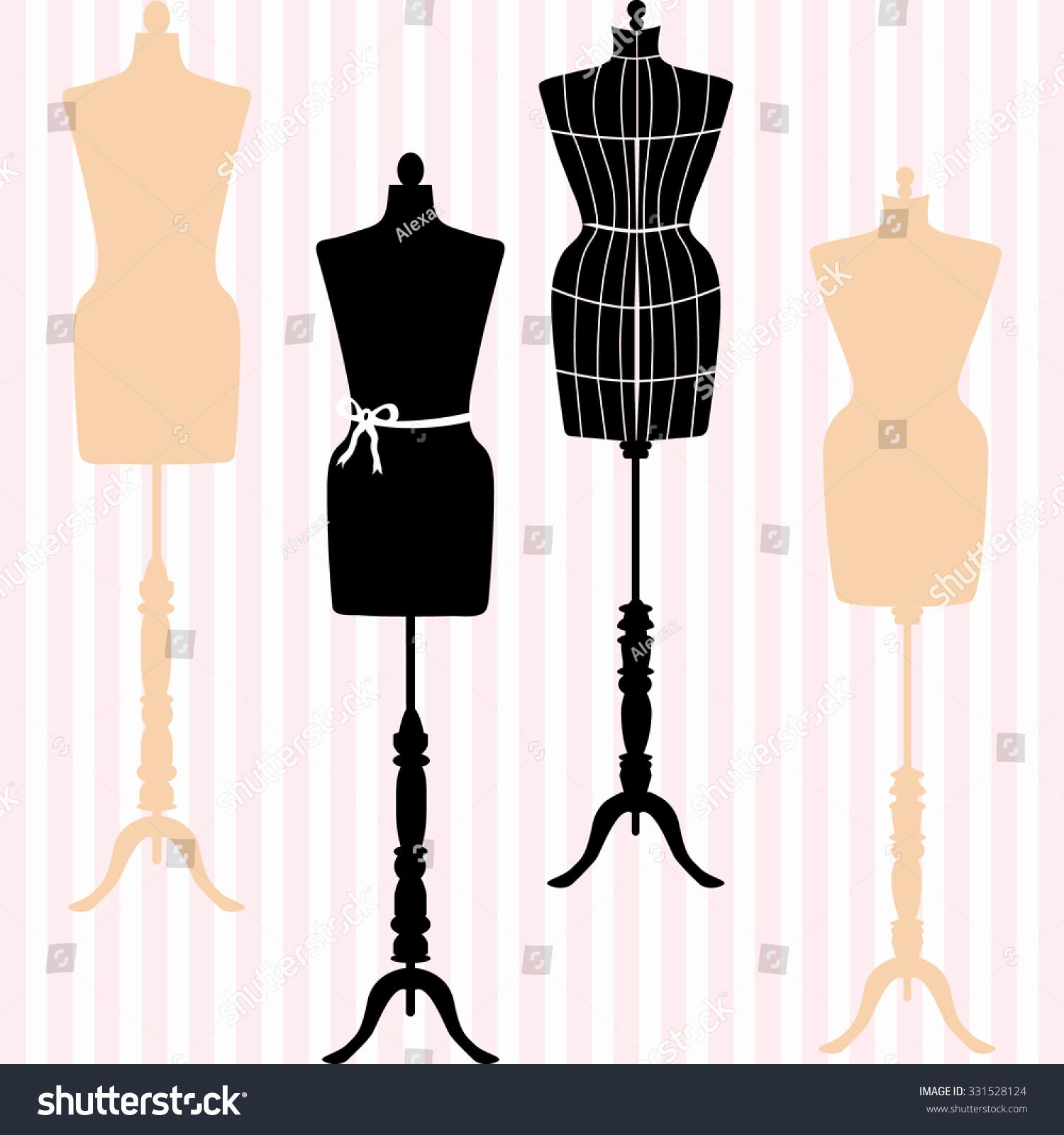 1500x1600 Dress Form Mannequin Luxury Mannequin Silhouette Fashion Dress
