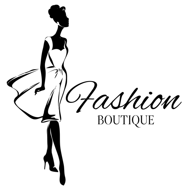 600x600 Girl With Fashion Boutique Illustration Vector 11