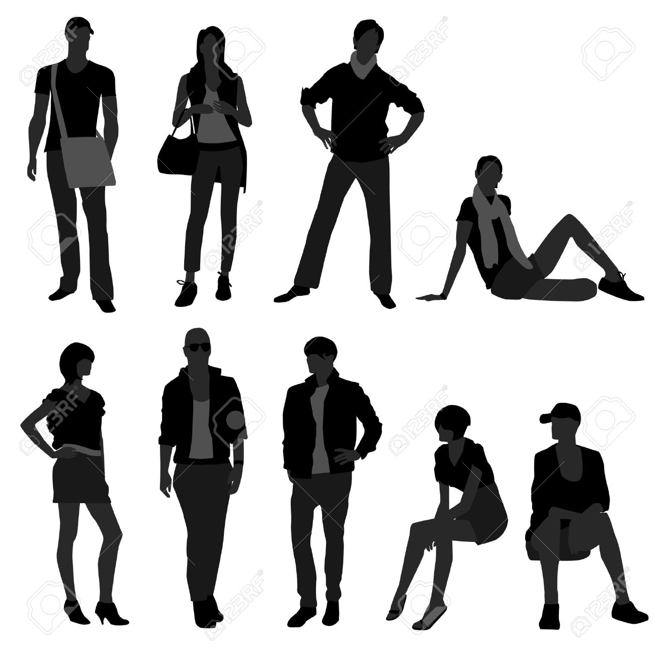 1300x1300 Model Clipart Fashion Shopping Many Interesting Cliparts