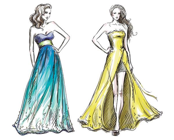 Fashionista Silhouette