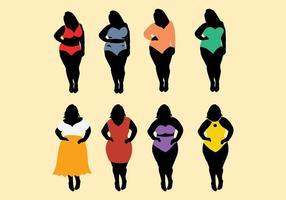 286x200 Fat Women Free Vector Art