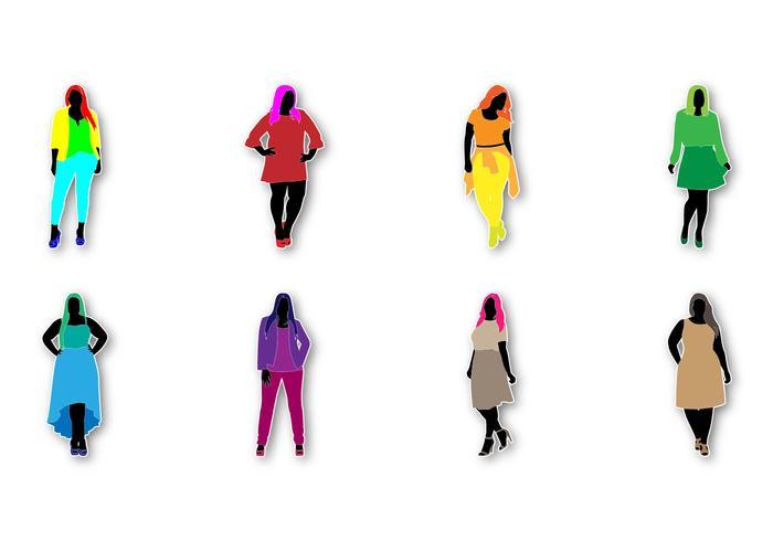 700x490 Free Fat Women Fashion Vector