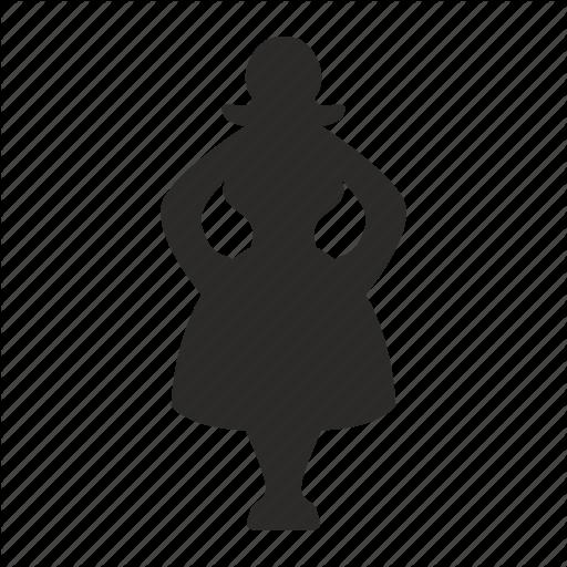 512x512 Body, Fat, Figure, Person, Woman Icon Icon Search Engine