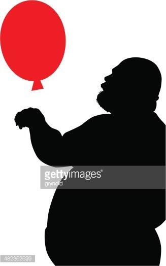 327x524 Fat Man Stock Vectors