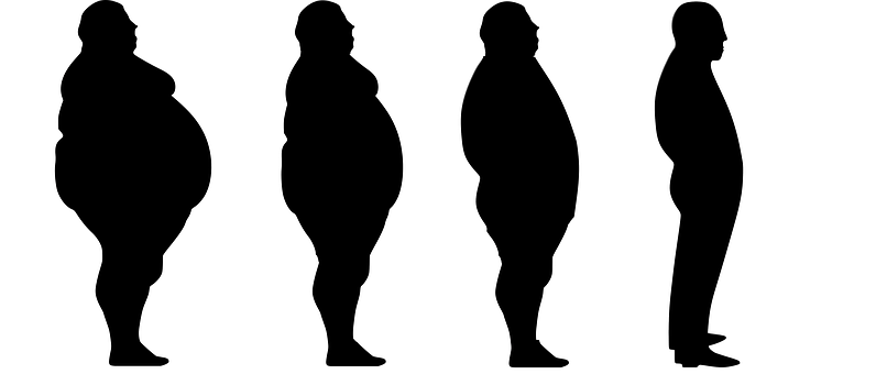 Fat People Silhouette