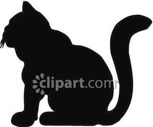 300x249 Silhouette Of A Fat Cat