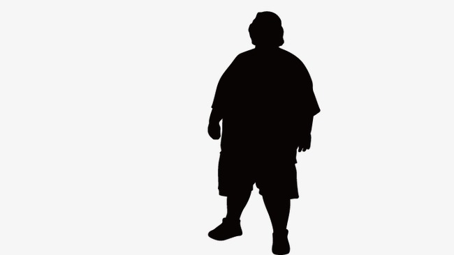 650x366 Fat Woman, Fat Woman Silhouette, Vector Fat Woman Png And Vector