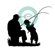 236x236 Father And Son Silhouette Auf Httpwww