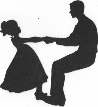 336x366 Father Daughter Dancing Silhouette Silhouette, Father