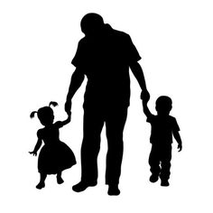 236x236 Boy And His Dog Child Silhouette Die Cut For Scrap Booking Or Card
