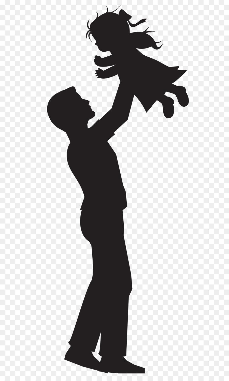 900x1500 Silhouette Father Daughter Clip Art