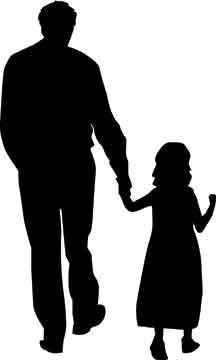 216x360 Father Amp Child Silhouette Teacherplus
