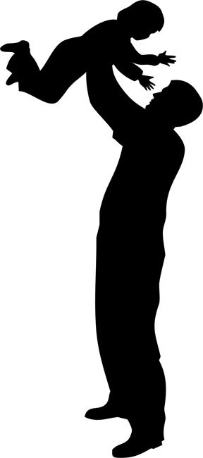 288x650 Silhouette Of Mother And Child
