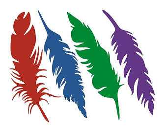 340x270 Feather Bird Svg Etsy