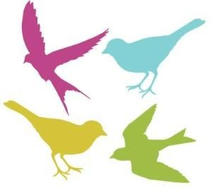 300x268 Bird Silhouettes For Shrinky Dinks By Saburns Cut Outs