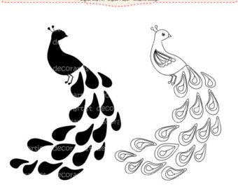 340x270 Feather Silhouette Clipart