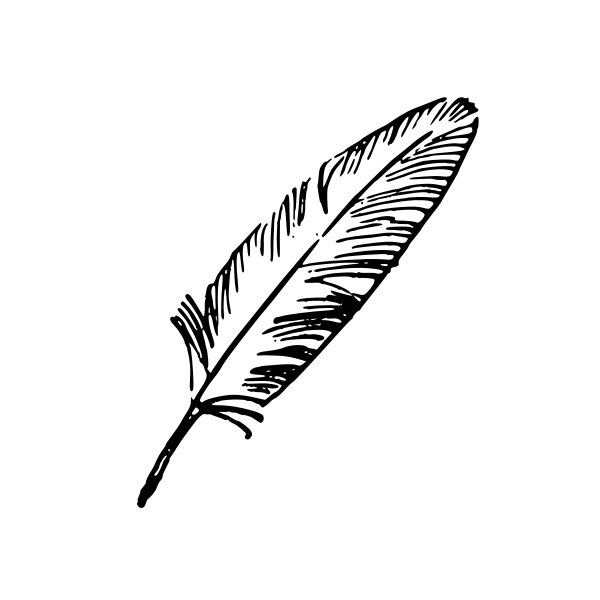 600x600 Feather Vector (Eps, Svg, Png)