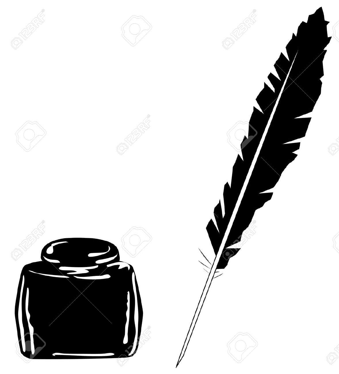1178x1300 Pen Clipart Ink Quill Many Interesting Cliparts