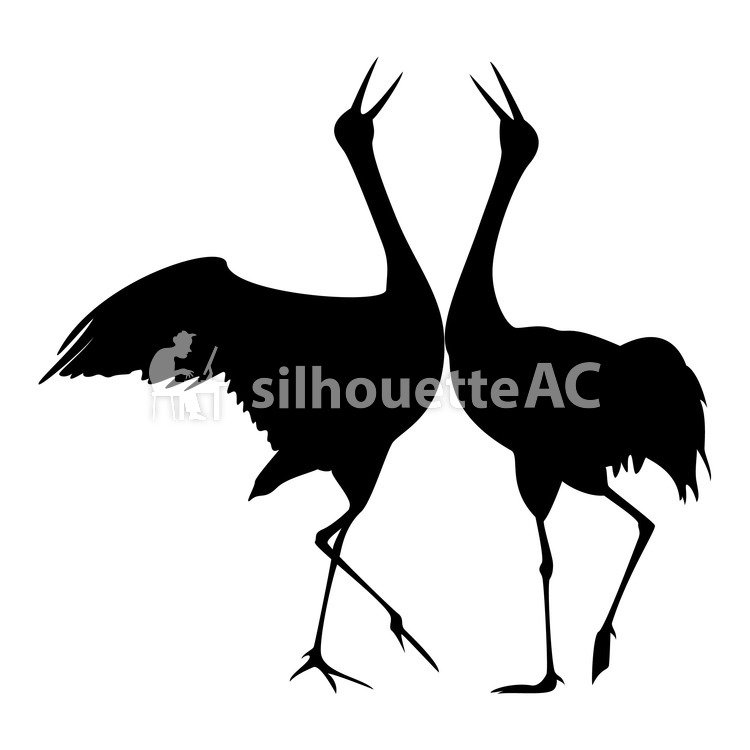 750x750 Free Silhouettes 2 Feathers, Icon