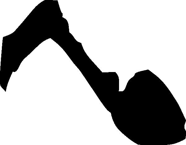 600x467 Horse Foot Silhouette Clip Art