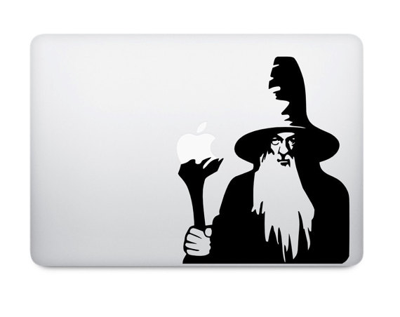 570x452 Gandalf Decal Lotr Decal Lord Of The Rings Decal Macbook