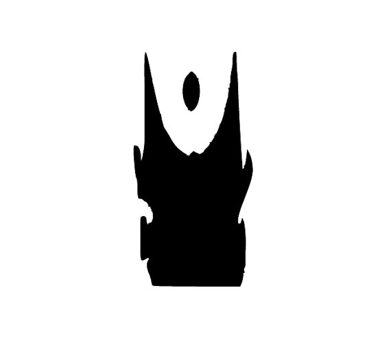 570x525 Items Similar To Lord Of Rings Silhouette Sauron's Tower