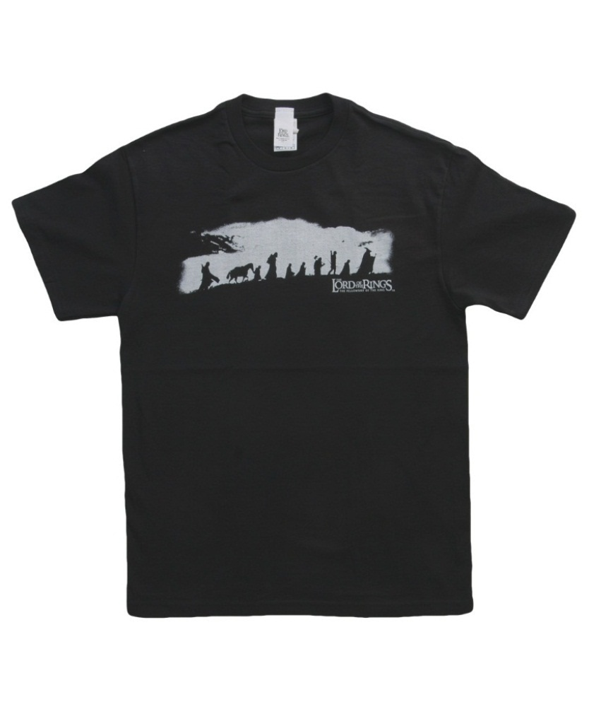 834x1000 Lord Of The Rings The Fellowship T Shirt