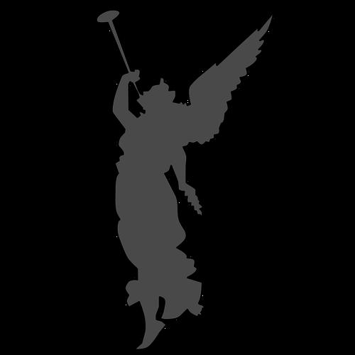 500x500 718 Angel Wings Clip Art Free Public Domain Vectors