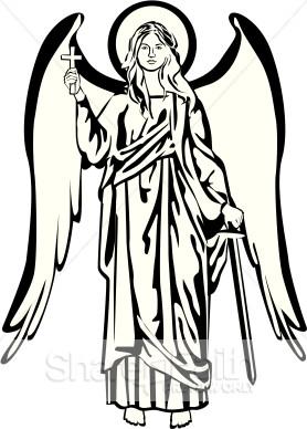 278x388 Angel Clipart Angel Michael