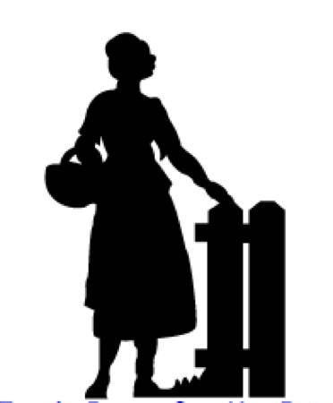372x450 Pioneer Woman Silhouette