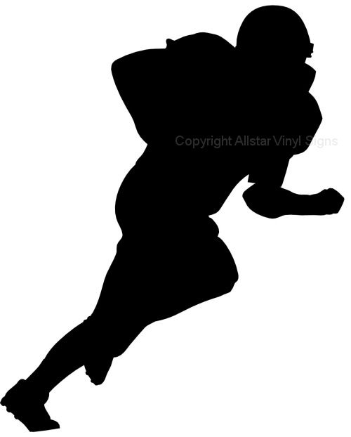 500x622 Clipart Picture Silhouette Sports