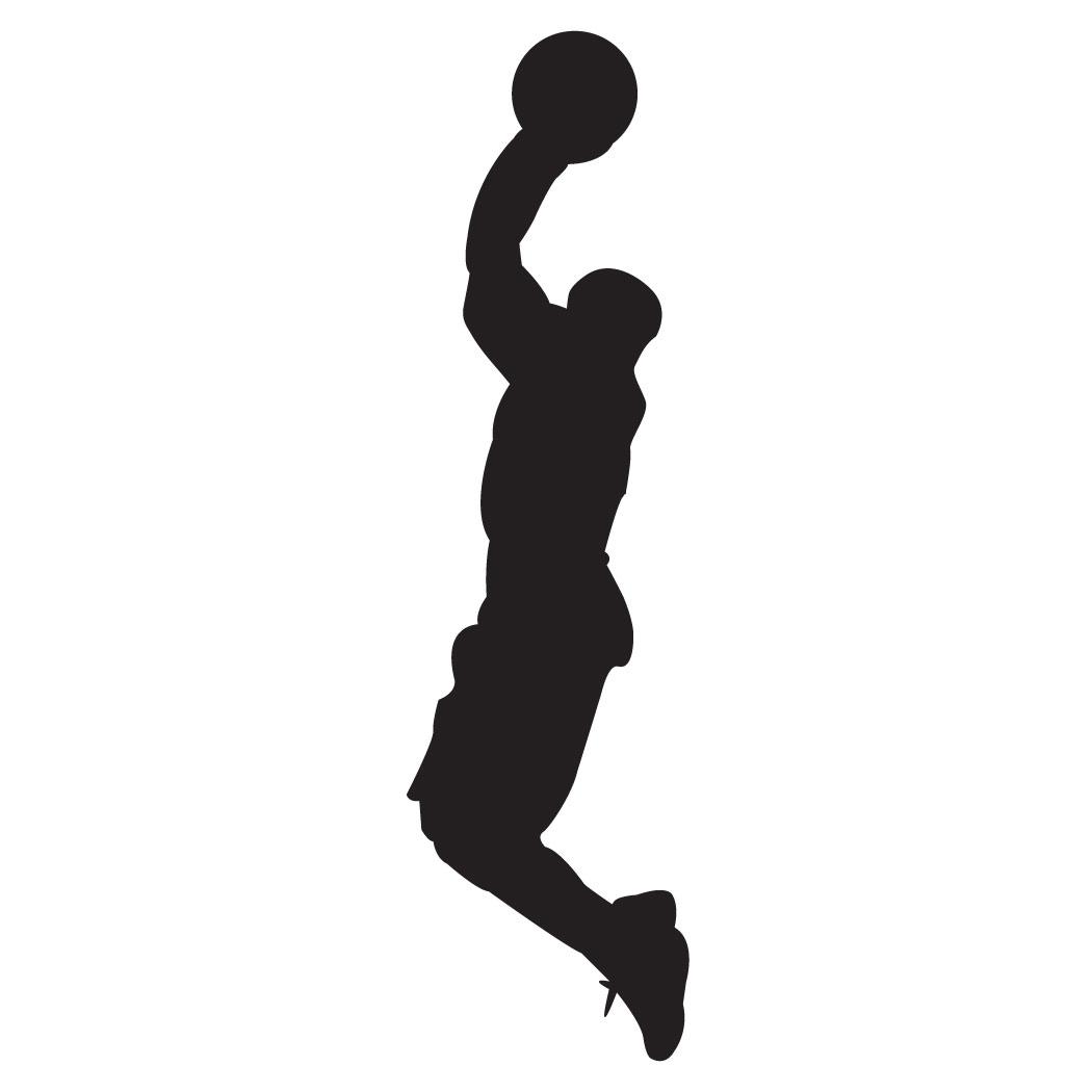 1050x1050 Basketball Wallpaper Female Basketball Silhouette Wallpaper