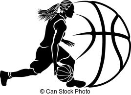 268x194 Women's Basketball Vector Clip Art Royalty Free. 1,049 Women'S