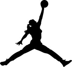 female basketball silhouette at getdrawings com free for personal rh getdrawings com  girls basketball clipart free