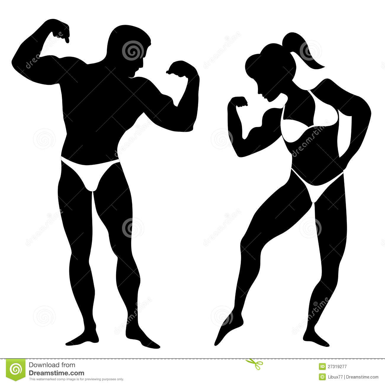 1300x1303 Clip Art Female Body Builder Woman Clipart Bodybuilder Pencil