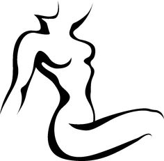 236x231 Image Result For Female Body Outline Tattoo Lines
