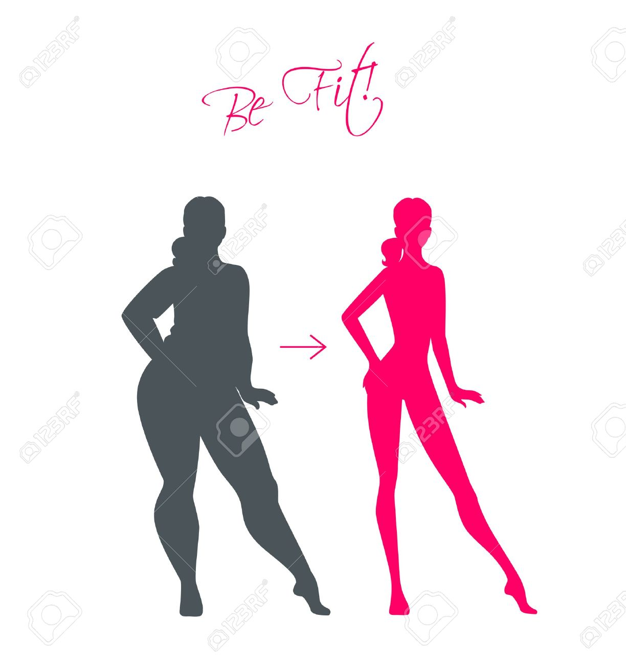 1224x1300 To Slim Woman Clipart Free
