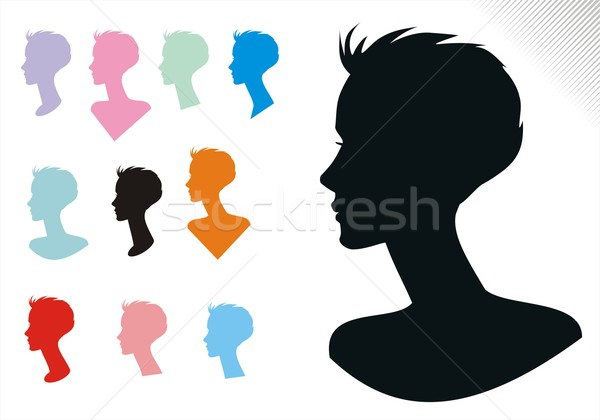 600x420 Woman Hair Styles One Vector Illustration Housebrasil ( 3630425
